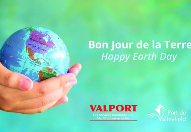 Happy Earth Day ! - Bon Jour de la Terre! Valport