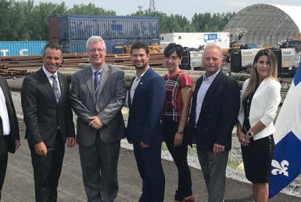 Government funding granted to expand and enhance Port of Valleyfield