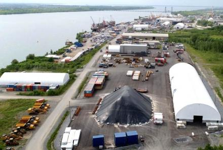 Le port de Valleyfield, 3e plus achalandé au Canada