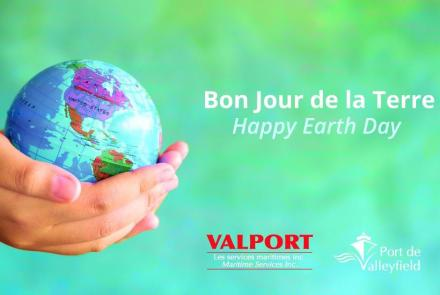 Valport Happy Earth Day !